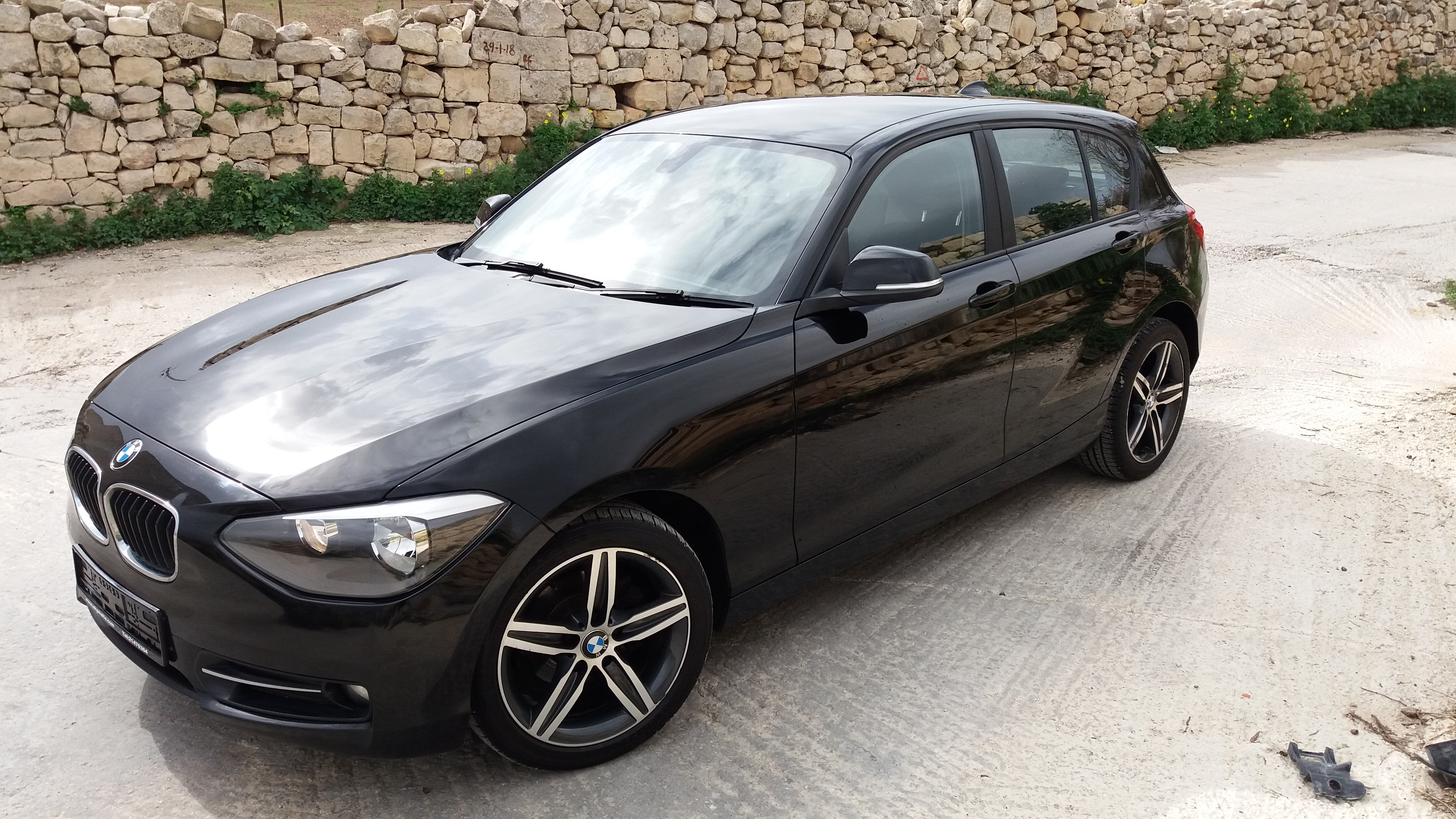 SOLD BMW 1 Series Sports new shape