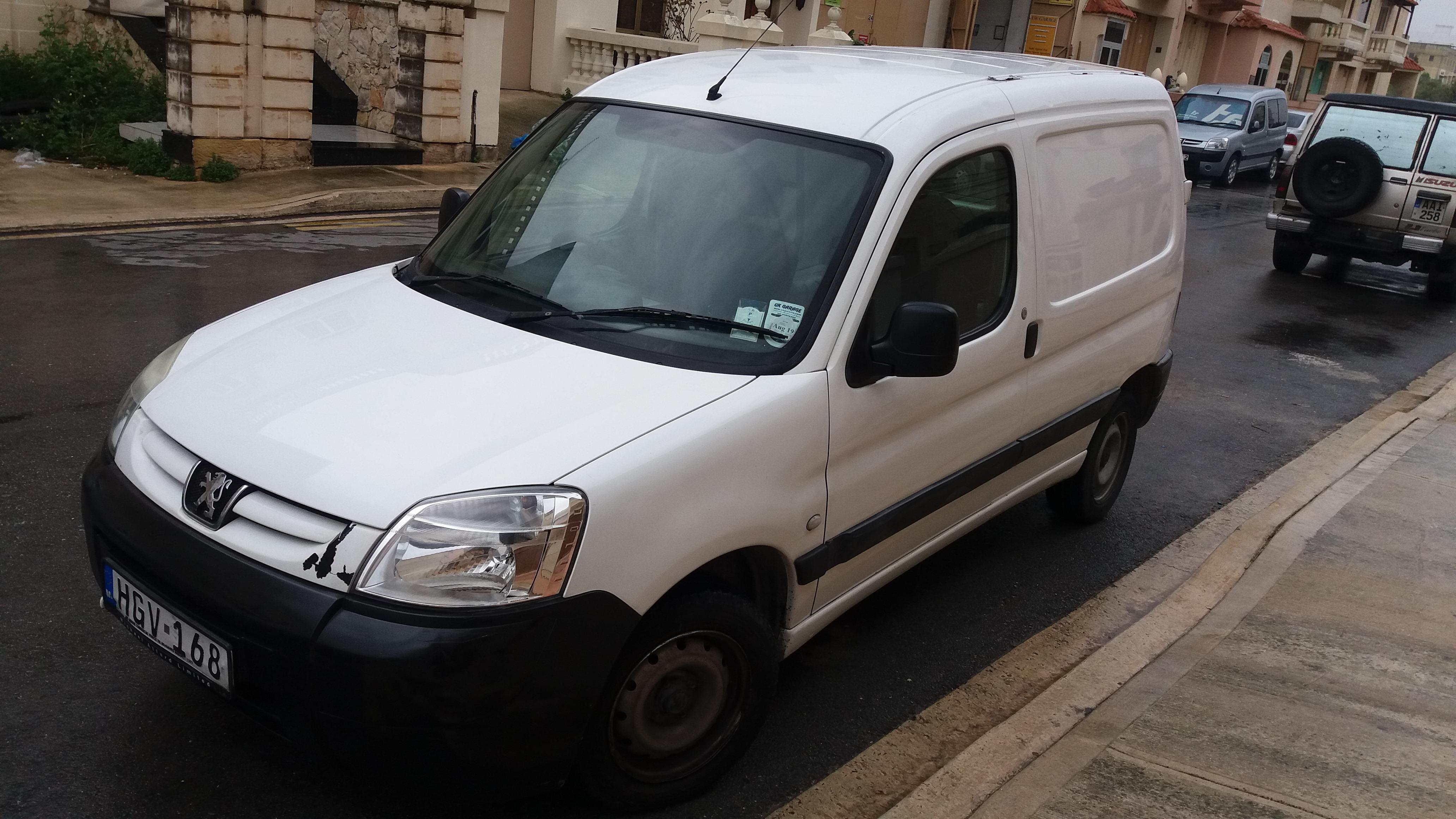 Peugeot Partner SOLD